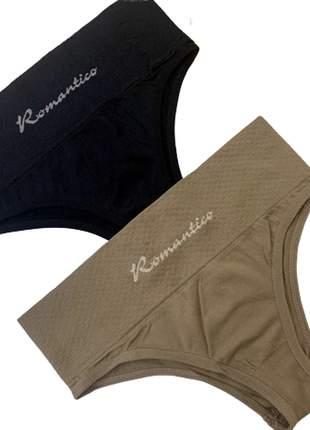 Calcinha modeladora cos reforçado lingerie p m g gg