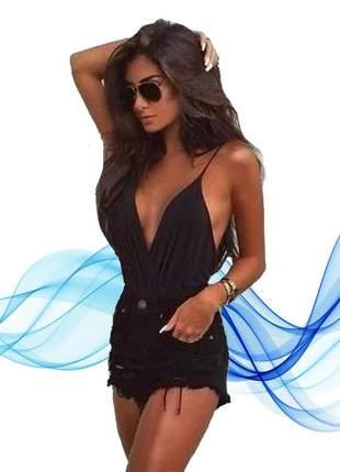 Body bruna marquezine decote feminino bojo envio super rápido!