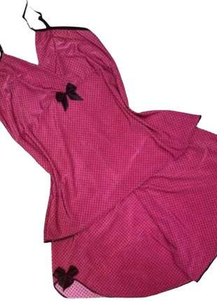 Baby doll conjunto lingerie pijama p m g gg