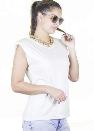 Muscle tee off white