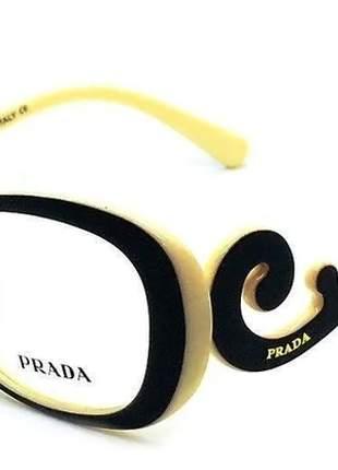 Armação óculos p/ grau baroque marrom, observação: me pergunte antes as cores disponíveis