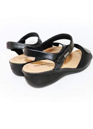 Sandália salto médio comfortflex ramarim