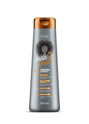 Shampoo mais q onda crespas triskle 350ml