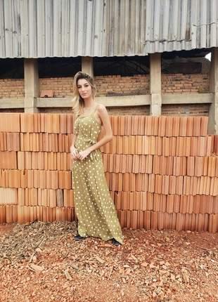 Vestido poá thalyta