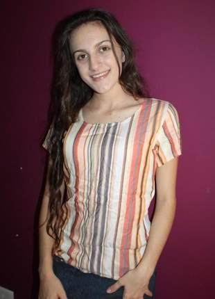Blusa feminina moda evangelica linho blusinha barata