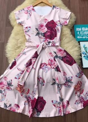Kit de 4 vestido