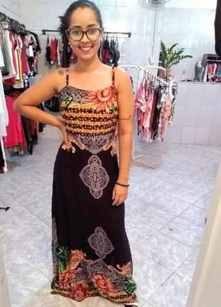 Vestido feminino longo