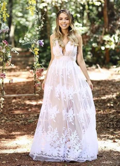 Pin de Alicia Quezada em Bridal ︎   Vestido de casamento