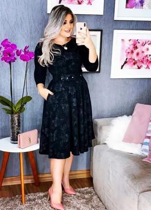Vestido+cinto brinde godê evangélico roupas femininas mais vendido  promoção