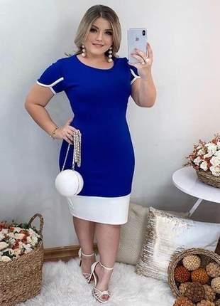 Vestido moda evangelica cristã midi tubinho social elegante