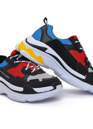 Tenis balenciaga triple-s sneaker unissex lançamento