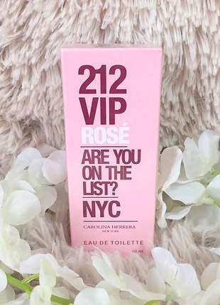 Perfume 212 vip rosé feminino – 50ml - envio rápido