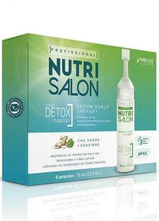 Nutrisalon detox serum scalp therapy ampolas 6x10 ml