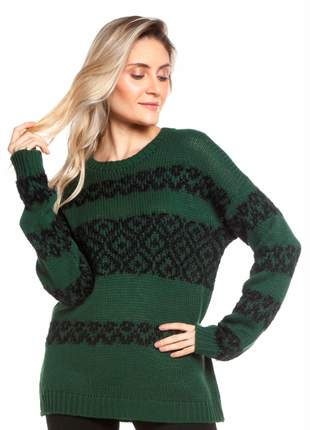 Blusa ralm jacard fofinho - verde