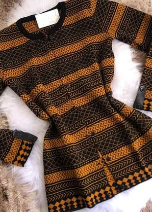 Casaco em tricot