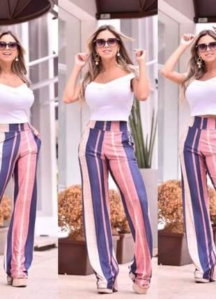 Calça pantalona elegante