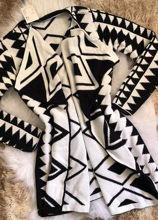 Kimono em tricot