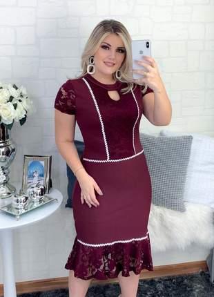 Vestido social evangelico princesa evento festa moderno boneca tubinho
