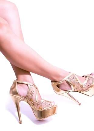 Sandálias femininas meia pata