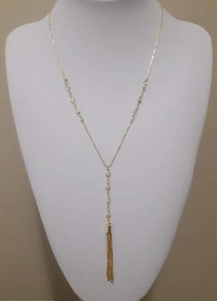 Corrente gravatinha semi-jóia