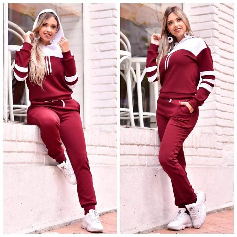C&W Modas / Conjunto red white