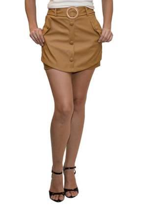 Short saia corino