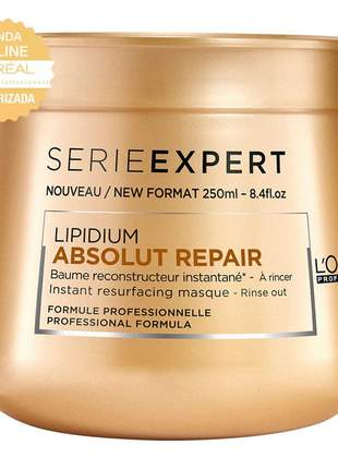 Máscara  absolut repair l'oréal professionnel 250g
