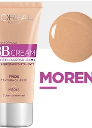 Bb cream l'oréal paris dermo expertise fps20 30ml - cor morena