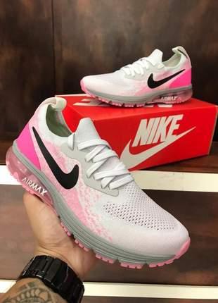 Tênis update nk air max rosa  feminino