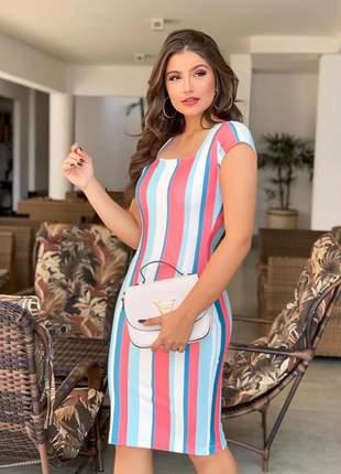 Vestido stripe colors