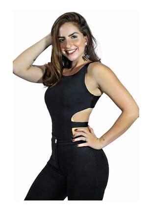 Body alcinha costa nua com faixa moda feminina pronta entrega