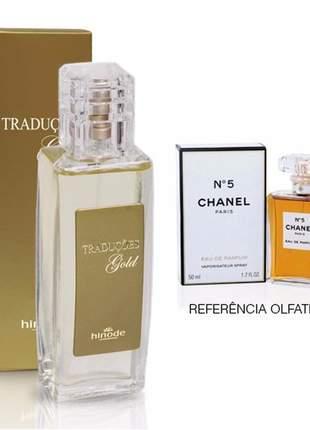 Perfume traduções gold nº 5 chanel - 100 ml