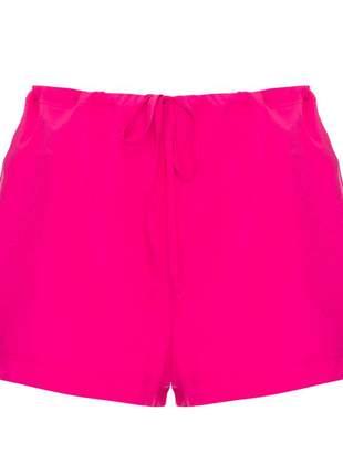 Shorts rosa