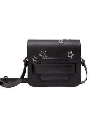 Bolsa em couro estrela