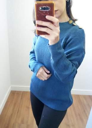 Blusa de frio em tricô
