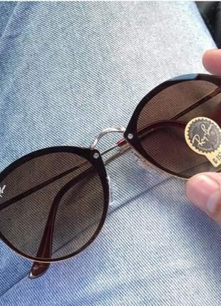 Óculos de sol rayban blaze round