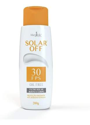 Filtro solar off fps 30 200g - oil free