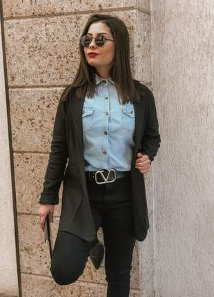 Camisa jeans influences