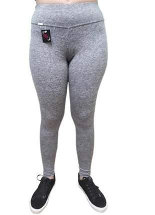Calça legging feminina academia lisa pingo exutai