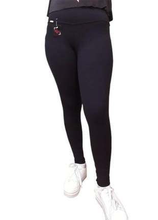 Kit 2pçs calça fitness feminino legging suplex de poliamida