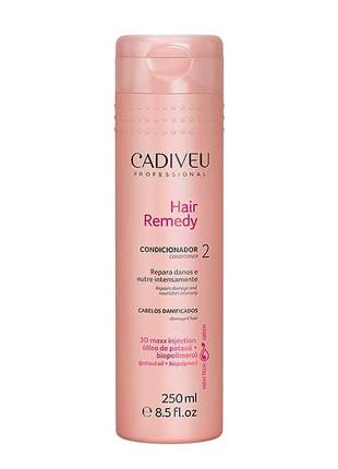 Condicionador hair remedy cadiveu 250ml