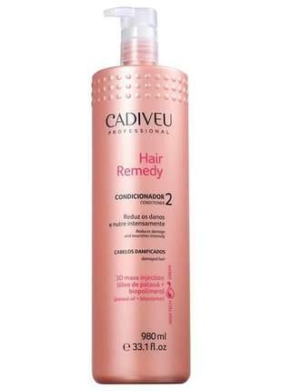 Condicionador hair remedy cadiveu 980ml