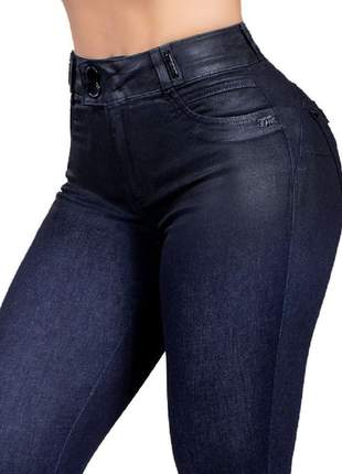 Calça feminina pit bull jeans pitbull cintura alta original