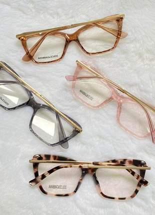 Armacao de óculos diamante dolce & gabbana dg5025