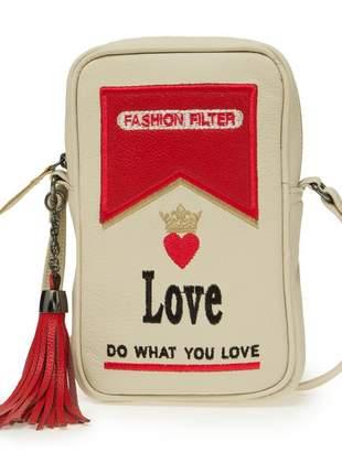 Bolsa cigarrinho do amor