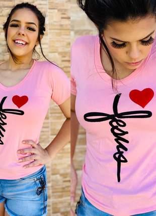 T-shirts tamanho m rosa bebê