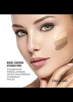 "Base liquida studio pro luci luci ""cor 02""."
