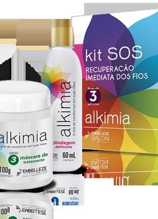 Kit alkimia tratamento capilar