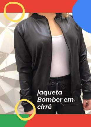 Jaqueta bomber feminino