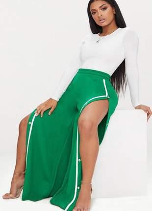 Body feminino manga longa